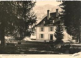 CPA-1950-38-ALLEMONT-Les TILLEULS Le PARC-TBE - Allemont