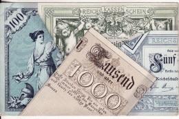 GELDSCHEIN Tausend MARK ZWERG Reichsbank Money Monnaie Billet De Banque-Banknote-Reichs Kassen Schein-Deutschland- - Coins (pictures)
