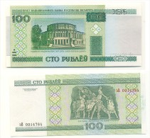 Bielorrusia - Belarus 100 Rublei 2000 Pick-26 UNC - Belarus
