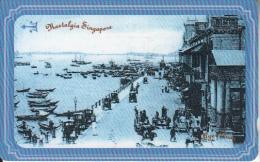 SINGAPORE(GPT) - Nostalgia Singapore/Harbour, CN : 107SIGB(normal 0), Used - Landschappen