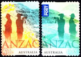Australia 2015 ANZAC: Australia - NZ Joint Issue Set Of Stamps S/A Unfranked No Gum - 2010-... Elizabeth II