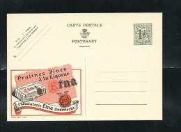 Publibel Neuve N° 1165 ( Pralines Fines à La Liqueur  ETNA, Chocolaterie à Anderlecht) - Stamped Stationery