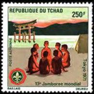 CHAD 1971 - Scott# C83 Scouts Set Of 1 MNH - Tchad (1960-...)