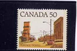 CANADA #723iii-STREET DEFINITIVE,1977-82,  MNH,  , Batiment, Auto, Rue. Dot On Bumper - Neufs