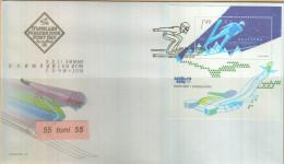 "Bulgaria / BULGARIE 2014 ""Winter Olympiad In Sochi"" S/S-FDC - Hiver 2014: Sotchi"