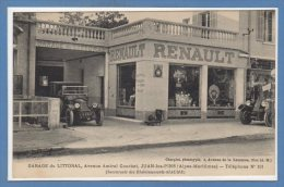 06 - JUAN Les PINS --  Garage Du Littoral - France