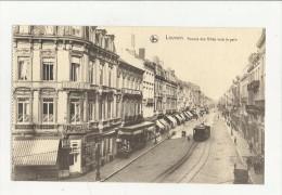 88937 LOUVAIN AVENUE DES ALLIES VERS LA GARE  TRAM - Leuven