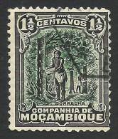 Mozambique Company, 1 1/2 C. 1918, Scott # 112, Used - Mozambique