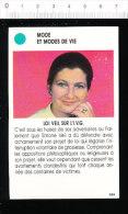 Loi VEIL Sur L'I.V.G. / Simone VEIL / IVG /  01-ES-MOD/1 - Vieux Papiers