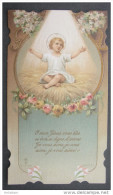 IMAGE PIEUSE (chromo Vers 1910) : NOEL -  GLORIA IN EXCELSIS DEO  / HOLY CHRISTMAS CARD / SANTINI - Devotion Images