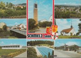 D-66839 Schmelz - Alte Ansichten - Freibad - Brücke - Kirche - Kreis Saarlouis