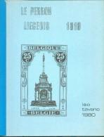 BELGIQUE - Le Perron Liégeois 1919 Par Léo TAVANO, (Ed , Liège, 1980 , 62 Pages.  - TB - 10579 - Filatelie En Postgeschiedenis