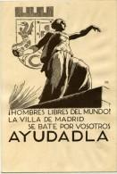 Junta Delegada De Defensa De Madrid ( Propaganda Y Prensa. Serie A Nº7 ) RRR-242 - Emissioni Repubblicane