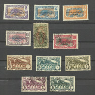 Congo N°73 à 75, 77, 82, 93, 113 à 117 - Französisch-Kongo (1891-1960)
