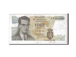 [#110087] Belgique, 20 Francs Type 1964 - [ 2] 1831-... : Royaume De Belgique