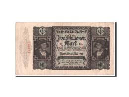 [#350680] Allemagne, 2 Millionen Mark Type 1923 Third, Pick 89 - 2 Millionen Mark