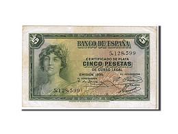 [#108731] Espagne, 5 Pesetas Type 1935 - [ 2] 1931-1936 : République