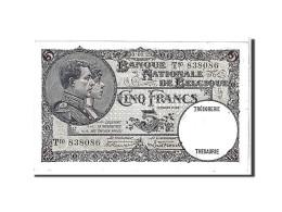 [#111114] Belgique, 5 Francs Type 1926-31 - 5 Francs