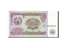 Tadjikistan, 20 Roubles, Type 1994 - Tayikistán