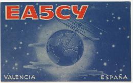 Mislata Valencia Carte QSL Radio EA5CY Radio Club De Cuba Marcelino Garcia - Autres