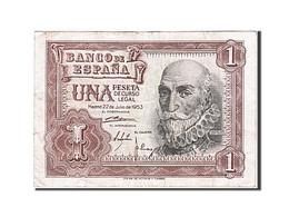 [#257950] Espagne, 1 Peseta, Type Marquis De Santa Cruz - [ 3] 1936-1975 : Régence De Franco