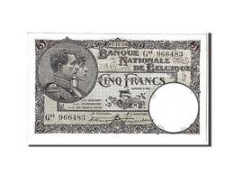 Belgique, 5 Francs Type 1922-26 - [ 2] 1831-... : Regno Del Belgio