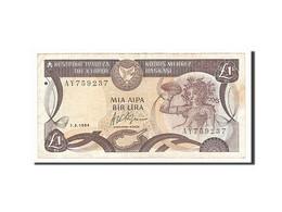 [#156658] Chypre, 1 Livre Type 1987-92 - Chypre