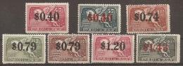 URUGUAY 1944 - Yvert #A101/07 - MLH * - Uruguay