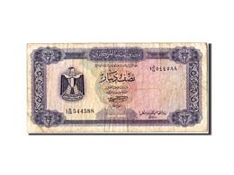 Libye, 1/2 Dinar Type 1971 - Libye