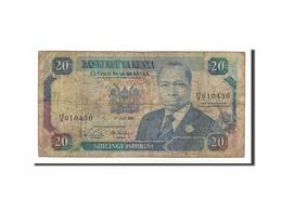 [#156350] Kenya, 20 Shillings Type Arap Moi - Kenya