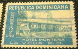 Dominican Republic 1950 Hotel Montana La Vega 5c - Used - Dominican Republic