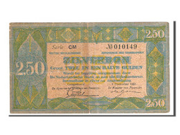 [#83422] Pays-Bas, 2 1/2 Gulden Type 1922, Pick 18 - [2] 1815-… : Reino De Países Bajos