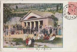 CPA ITALIE ITALIA ACQUI Fontanino Carte Colorisée 1908 - Alessandria