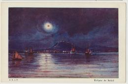 Art Card Signée Eclipse De Soleil - Groenland