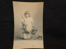 Carte Fantaisie .  Jouets . Enfant.  Avant 1904. Tambour. - Cartes Postales