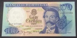 PORTUGAL 100 ESCUDOS 30/11/1965 AU - Portogallo