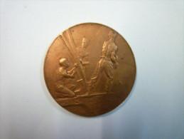 RARE  Médaille De La TOUR  EIFFEL  1900  (Souvenir De L´ASCENSION - Sommet De La Tour  EIFFEL) - Tourist