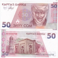 Kyrgyzstan - 50 Som 1994 UNC Ukr-OP - Kyrgyzstan