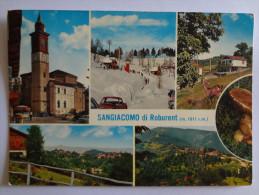 592 - Cartolina Sangiacomo Di Roburent (Cuneo) Viaggiata 1972 Ediz.Sport Garelli Postcard Carte Postale - Italie