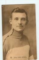 Jules VAN HEVEL  - Lire Descriptif - Carte Vendue En L' état - 2 Scans - Cycling