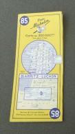 Carte Michelin France - Années 1960 - Numéro 85 - Biarritz - Luchon - Cartes Routières