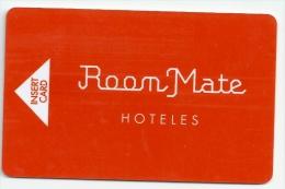 HOTEL ROOM MATE , Llave Clef Key Keycard Karte - Hotel Labels