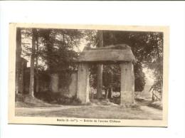 CP - NEVILLE (76) ENTREE DE L ANCIEN CHATEAU - France