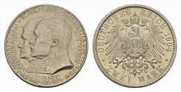 Hessen  2 Mark 1904, 400. Geburtstag Phillips Des Großmütigen - [ 2] 1871-1918 : German Empire