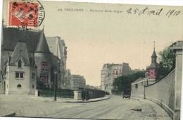PARIS PASSY  Piulevard Emile Augier Colorisée  Recto Verso - Arrondissement: 16
