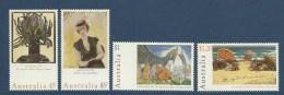 Australie Australia 1996 Yvert 1482/1485 ** Tableaux -National Day Paintings - 1990-99 Elizabeth II