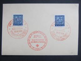 SONDERSTEMPEL 50.Geburtstag Des Führers Hitler 1939   ///  D*16141 - Böhmen Und Mähren