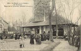 Depts Divers- Essonne - Ref CC67 -  Brunoy - Le Moulin De La Galette - Les Bosquets - Place De La Pyramide - - Brunoy