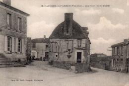 Bazoges En Pareds : Quartier De La Mairie - France