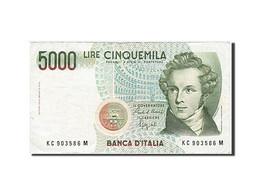 [#257644] Italie, 5000 Lire, Type V. Bellini - [ 2] 1946-… : République